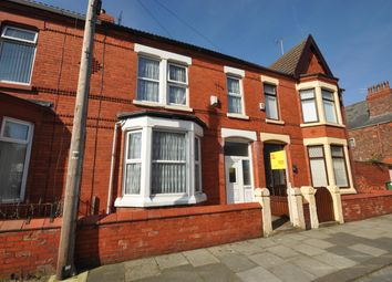 Thumbnail 4 bed terraced house for sale in Leasowe Avenue, Wallasey