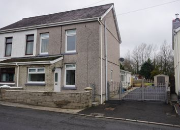 Thumbnail 3 bed semi-detached house for sale in Dyffryn Road, Saron, Ammanford