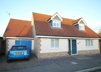 Thumbnail 3 bed detached house for sale in Fleet Close, Littleport
