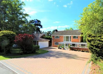 Thumbnail 5 bed detached house for sale in Azalea Way, Camberley