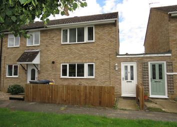 Thumbnail 3 bedroom semi-detached house for sale in Gordon Close, Little Paxton, St. Neots