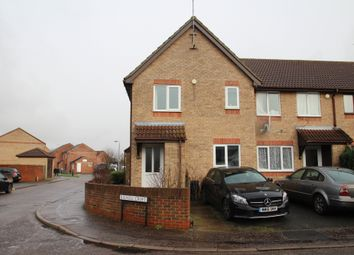 Thumbnail 1 bed end terrace house to rent in Bignell Croft, Colchester, Essex