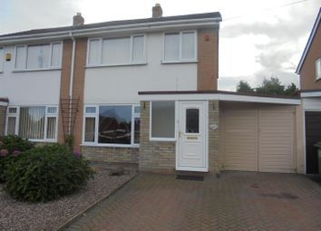Thumbnail 3 bed semi-detached house for sale in Fieldhouse Drive, Muxton, Telford