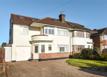 Thumbnail 6 bed semi-detached house for sale in The Chase, Pinner, Middlesex