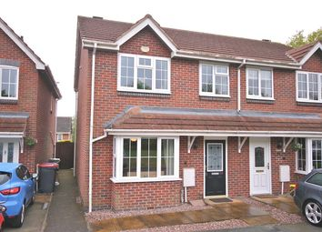 Thumbnail 3 bedroom semi-detached house for sale in Snowdrop Meadow, Ketley, Telford