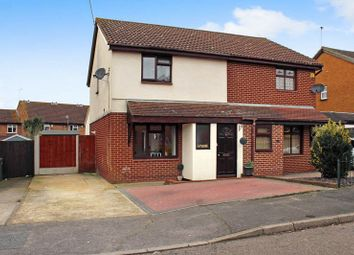 Thumbnail 3 bed semi-detached house for sale in Pebmarsh Drive, Wickford