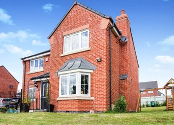 4 bed detached house for sale in Marston Drive, Markfield LE67
