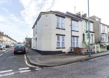 Thumbnail 3 bed end terrace house for sale in Gillingham Road, Gillingham, Kent
