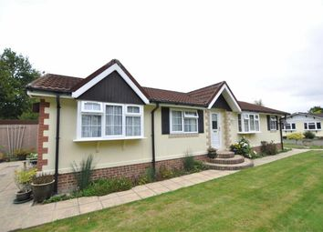 Thumbnail 2 bed mobile/park home for sale in Deer Haven, Deanland Wood Park, Golden Cross, Hailsham