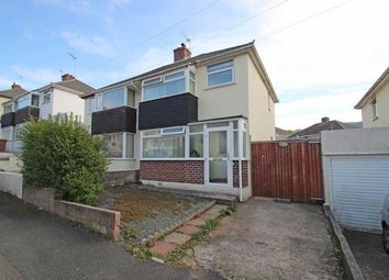 Thumbnail 3 bed semi-detached house for sale in Fanshawe Way, Plymstock, Plymouth