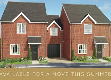 "Thumbnail 3 bed semi-detached house for sale in ""The Newport"" at Bury Water Lane, Newport, Saffron Walden"