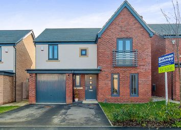 Thumbnail 4 bedroom detached house for sale in Coriander Drive, Hampton Vale, Peterborough