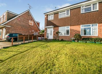 Thumbnail 3 bed semi-detached house for sale in Stonechat Road, Billericay