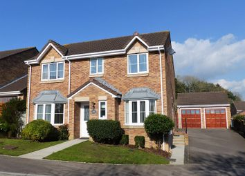 Thumbnail 4 bed detached house for sale in Ysbryd-Y-Coed, Pen-Y-Fai, Bridgend, Bridgend County.