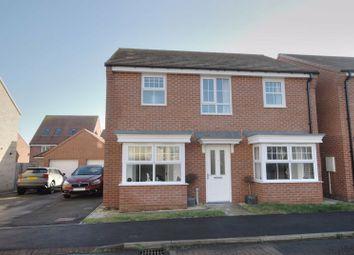 Thumbnail 4 bed detached house for sale in Ponteland Square, Crofton Grange Estate, Blyth