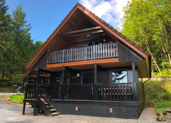 Thumbnail 4 bedroom lodge for sale in Loch Tay Highland Lodges, By Killin