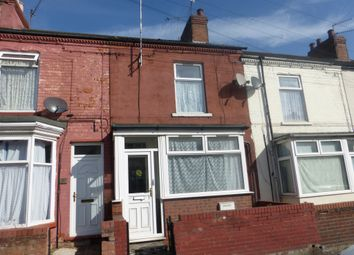 Thumbnail 3 bed terraced house for sale in Fox Street, Scunthorpe