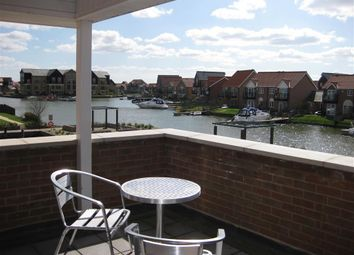 Thumbnail 4 bed town house to rent in Ellisons Quay, Burton Waters, Lincoln