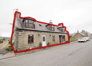 Thumbnail 3 bed detached house for sale in 45, High Street, New Aberdour, Fraserburgh AB436Ld