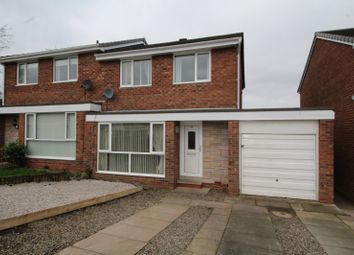 Thumbnail 3 bedroom semi-detached house for sale in Chesterholm, Carlisle, Cumbria