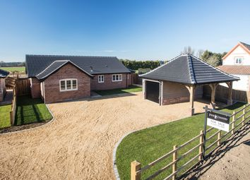 Thumbnail 3 bedroom detached bungalow for sale in Hale Road, Ashill, Thetford