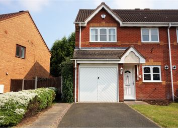 Thumbnail 3 bed semi-detached house for sale in John Howell Drive, Tipton