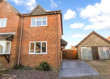 Thumbnail 2 bed semi-detached house for sale in Grange Close, Sawtry, Huntingdon, Cambridgeshire