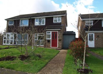 Thumbnail 3 bed semi-detached house for sale in Collins Walk, Newport Pagnell, Buckinghamshire