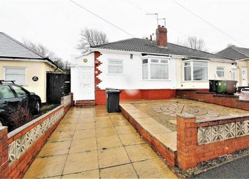 Thumbnail 1 bed semi-detached bungalow for sale in Pruden Avenue, Lanesfield, Wolverhampton