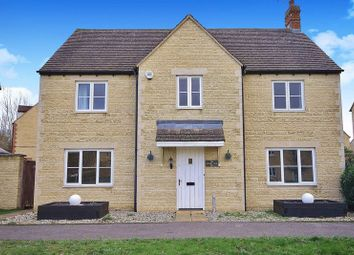Thumbnail 4 bed detached house for sale in Cherry Tree Way, Madley Park, Witney