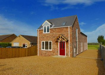 Thumbnail 3 bedroom country house for sale in Back Road, Murrow, Cambridgeshire