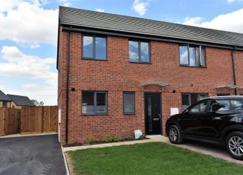 Thumbnail 3 bed end terrace house to rent in Draper Road, Gunthorpe, Peterborough