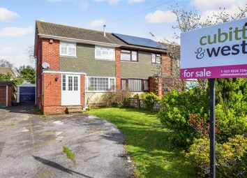 Thumbnail 3 bed semi-detached house for sale in Kingscote Road, Cowplain, Waterlooville, Hampshire
