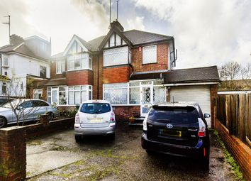 Thumbnail 3 bed semi-detached house for sale in Ellesmere Avenue, Mill Hill, London