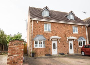 Thumbnail 3 bed semi-detached house for sale in Tann Road, Finedon, Wellingborough