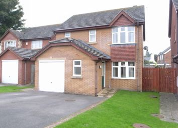 Thumbnail 3 bed detached house to rent in Lon Y Parc, St. Asaph