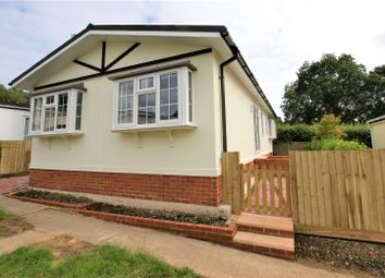 Thumbnail 2 bed bungalow for sale in Brookside Park Homes, Waterloo Road, Corfe Mullen, Wimborne
