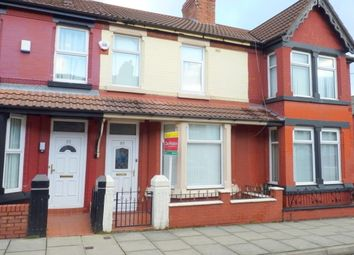 Thumbnail 3 bed terraced house to rent in Ivydale Road, Tranmere, Birkenhead