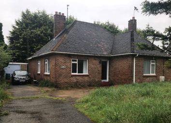 Thumbnail 4 bed bungalow for sale in Nutshell, Lynn Road, West Winch, King's Lynn, Norfolk