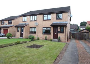 Thumbnail 3 bed semi-detached house for sale in Crossview Avenue, Baillieston, Glasgow, Lanarkshire