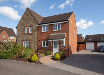 Thumbnail 3 bed semi-detached house for sale in Mill Pond Crescent, Chichester