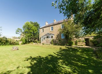 Thumbnail 5 bed country house for sale in The Farmhouse, West Marlish, Morpeth, Northumberland