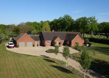 Thumbnail 5 bedroom detached bungalow for sale in Church Lane, Barnham, Thetford
