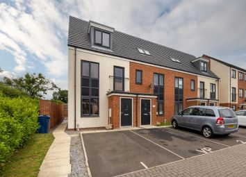 Thumbnail 3 bed town house for sale in Elmwood Park Mews, Great Park, Newcastle Upon Tyne