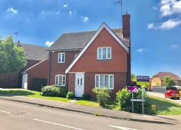 Thumbnail 4 bed detached house for sale in Hever Close, Thrapston, Kettering