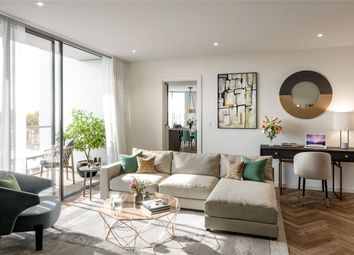 Thumbnail 1 bed flat for sale in Kings Road Park, London