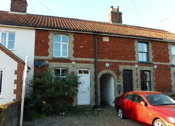 Thumbnail 3 bed terraced house for sale in Harvey Cottages, Station Road, Yaxham, Dereham, Norfolk