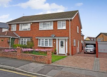 Thumbnail 3 bed semi-detached house for sale in Fern Road, Godalming