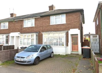 Thumbnail 2 bed terraced house for sale in Cedar Road, Shortstown, Bedford