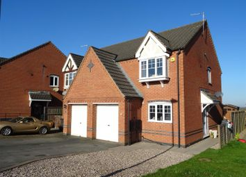 Thumbnail 3 bed semi-detached house for sale in Grange View, Ellistown, Leicestershire
